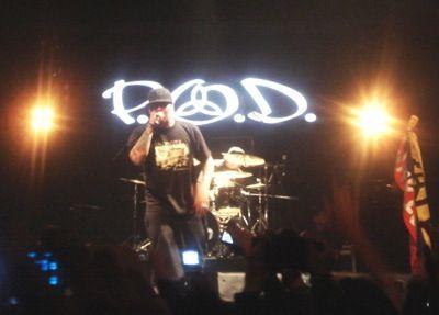 P.O.D reliza en Bogotá un concierto inolvidable