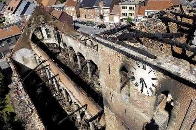 La iglesia a la que asiste Sarah Palin fue incendiada