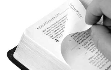 Una Biblia interconfesional sale a la luz
