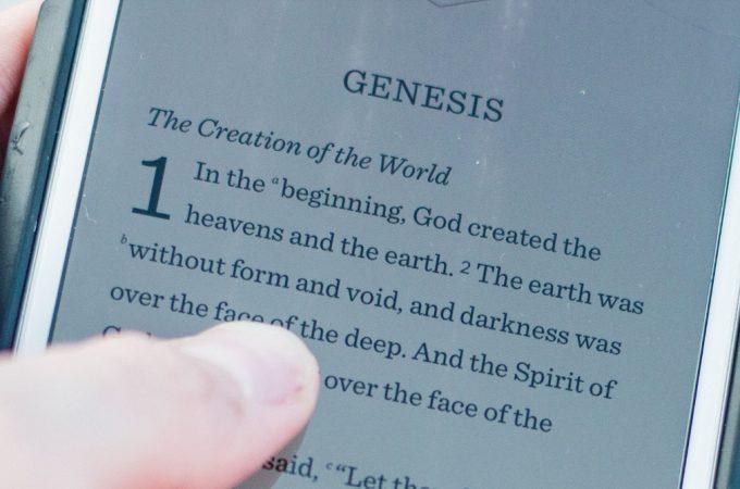 5 maneras de utilizar el teléfono inteligente para estudiar la Biblia