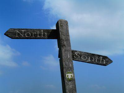 Del norte al sur