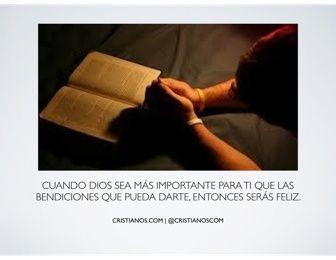 Cuando Dios sea más importante…